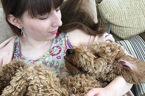 Terapihund mod ensomhed